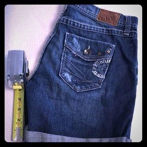 "BKE Sloan denim 28 waist 5"" shorts"